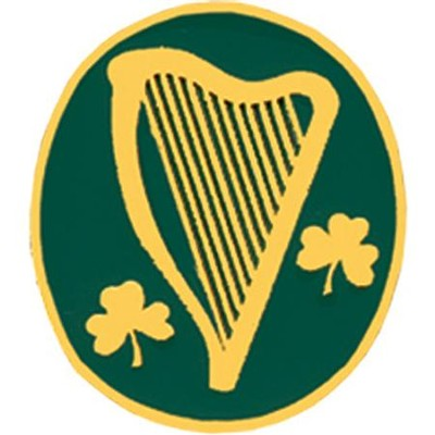 Irish Harp Pin  -