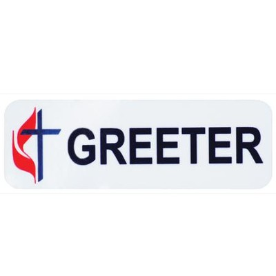 UMC Greeter Badge  -