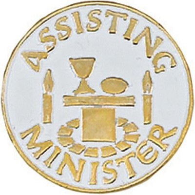 Assisting Minister Pin  -