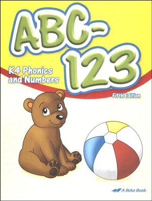 Abeka ABC-123: K4 Phonics and Numbers   -