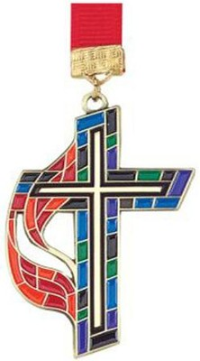 Methodist Cross Bookmark  -