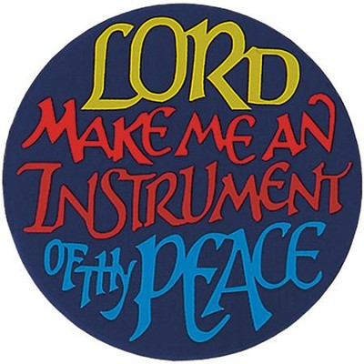 Instrument Thy Peace Magnet, Set of 4  -