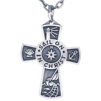 Sail On In Christ Pendant  -