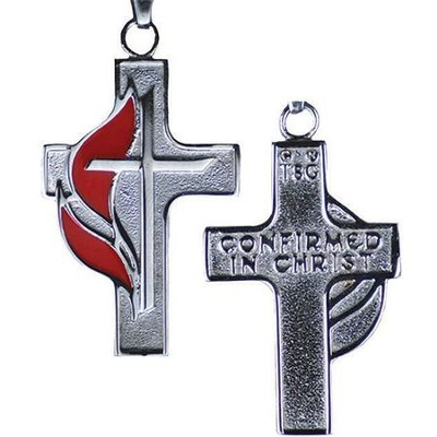 UMC Stainless Steel Confirmation Cross  -