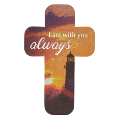 I Am With You Always, Cross Bookmark  -