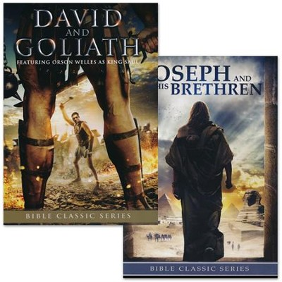 David and Goliath & Joseph and His Brethren 2-Pack   -