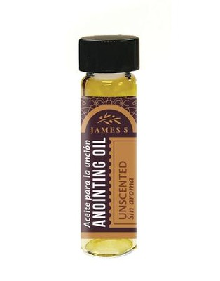 Anointing Oil, Unscented (1/4 ounce)  -