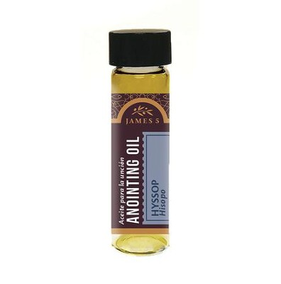 Anointing Oil, Hyssop (1/2 ounce)  -
