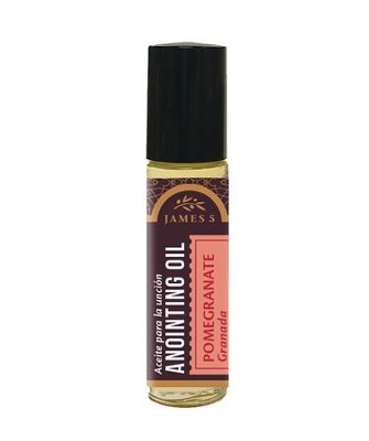 Anointing Oil, Pomegranate (1/3 ounce), Roll On  -