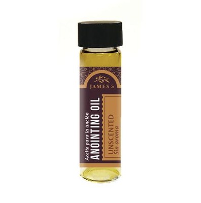 Anointing Oil, Unscented (1/2 ounce)  -
