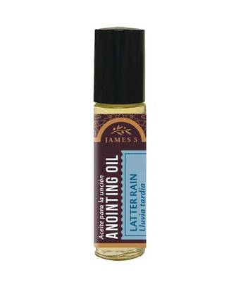 Anointing Oil, Latter Rain (1/3 ounce), Roll On  -