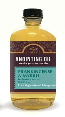 Anointing Oil, Frankincense and Myrrh (8 ounce) Refill  -