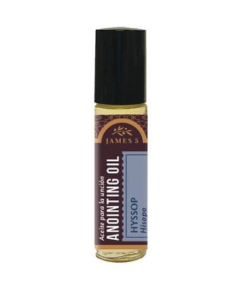 Anointing Oil, Hyssop (1/3 ounce), Roll On  -