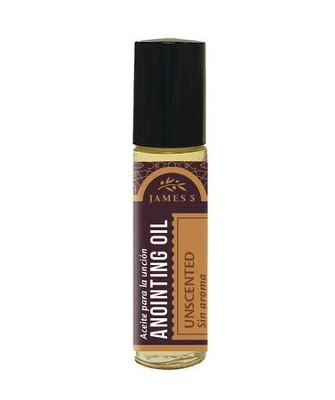 Anointing Oil, Unscented (1/3 ounce), Roll On  -