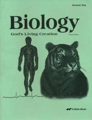 Biology: God's Living Creation Answer Key   -
