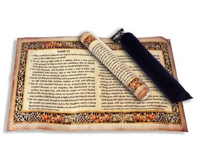 isaiah 53 parchment scroll christianbook com