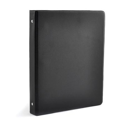 Three Ring Anthem Binder, Professional, Black   -