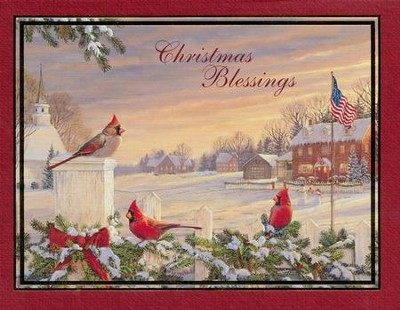 Christmas Blessings, Boxed Christmas Cards, 18  -     By: Sam Timm