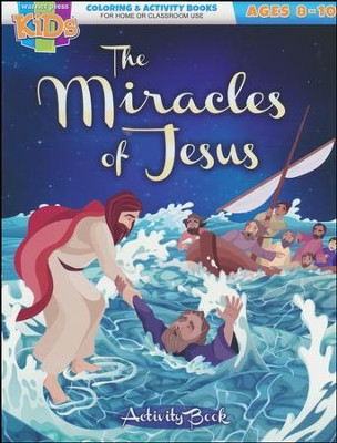 The Miracles of Jesus Activity Book (ages 8-10)  -