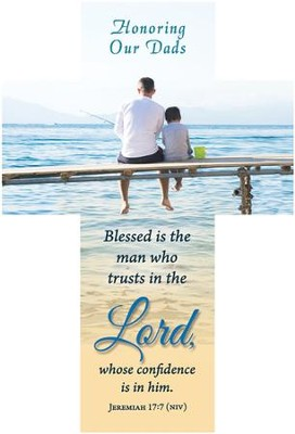 Blessed Is The Man (Jeremiah 17:7, NIV) Bookmarks, 25  -