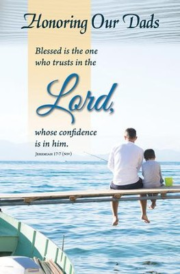 Blessed Is The Man who Trusts in the Lord (Jeremiah 17:7, NIV) Bulletins, 100  -