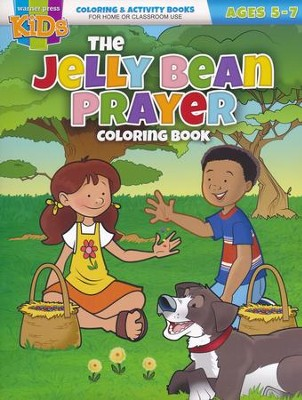 The Jelly Bean Prayer Activity Book (ages 5-7)  -