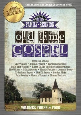 Country's Family Reunion: Old Time Gospel, Volumes 3 & 4 - 2 DVDs  -