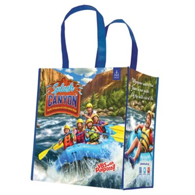 Splash Canyon: Tote Bag, pkg of 5  -