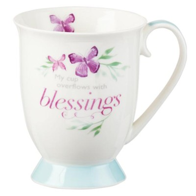 My Cup Overflows With Blessings Mug  -