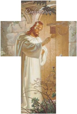 Christ at Heart's Door (Psalm 86:11) Cross Bookmarks, 25  -
