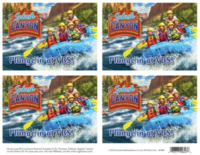 Splash Canyon: Otter Come to VBS Postcards  -