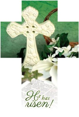 He Has Risen! (Luke 24:6, NIV) Cross Bookmarks, 25  -