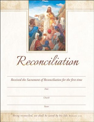 Jesus with the Children (Rom 5:10) Certificates, 25  -