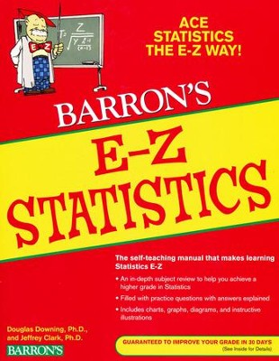 Barron's E-Z Statistics, 4th Edition   -     By: Douglas Downing, Jeffrey Clark