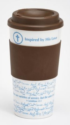 Inspired By His Love Travel Mug   -