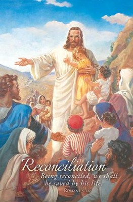Jesus with the Children (Rom 5:10, KJV) Bulletins, 100   -