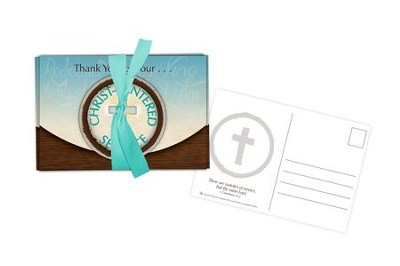 Christ-Centered Service, Postcards, Package of 10  -