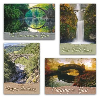 Connecting Moments (NIV) Box of 12 All Occasion Cards  -