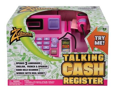 Talking Cash Register, Pink  -