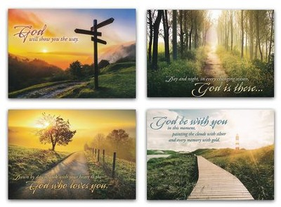 Until We Meet Again (NIV) Box of 12 Sympathy Cards  -