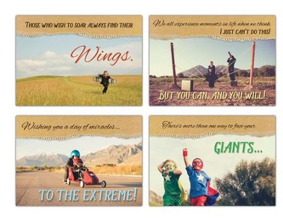 Sidekicks (KJV/ESV) Box of 12 Encouragement Cards  -