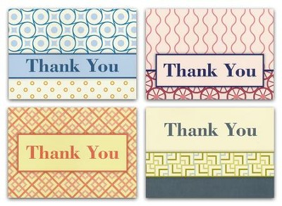 Thanks So Much (NIV) Box of 12 Thank You Cards  -