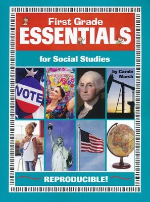 First Grade Essentials for Social Studies   -     By: Carole Marsh