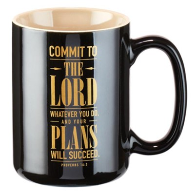 Commit To the Lord Whatever You Do Mug  -