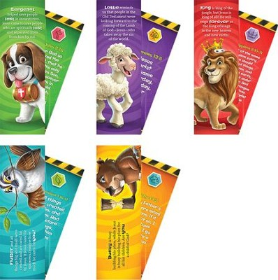 Time Lab: KJV Animal Pals Bookmarks (pkg. of 10)  -