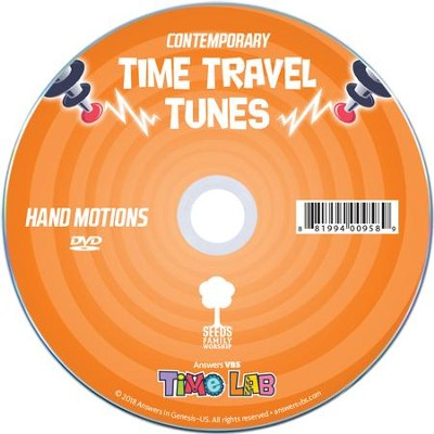 Time Lab: Hand Motions DVD (Contemporary)  -
