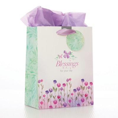 Blessings For Your Day, Gift Bag, Medium  -