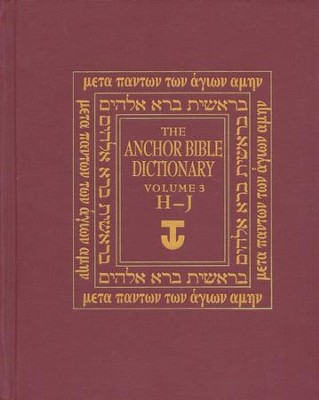 Anchor Yale Bible Dictionary, Vol. 3 H-J   -     By: David Noel Freedman