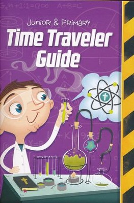 Time Lab: ESV Junior and Primary Time Traveler Guide and Sticker Set (pkg. of 10)  -