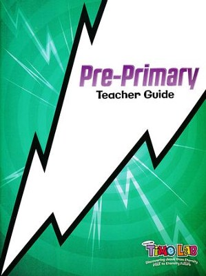 Time Lab: Pre-Primary Teacher Guide with Resource DVD-ROM  -